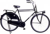 Amigo Eclypse - Stadsfiets 28 inch - Transportfiets voor mannen - Zwart