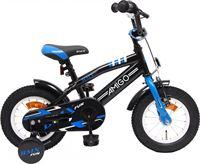 Amigo BMX Fun - Kinderfiets 12 inch - Jongens - Zwart/Blauw
