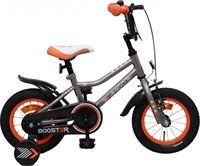 Amigo Booster - Kinderfiets 12 inch - Jongens - Grijs