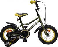 Amigo Booster - Kinderfiets 12 inch - Jongens - Groen