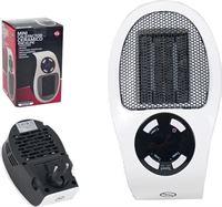 Gerimport Heater Mini 11 X 12 X 19 Cm 500w Wit