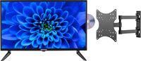 Medion BundelDEAL ! LIFE® E12463 23,6 inch TV & GOOBAY Basic FULLMOTION (D20) Muurbevestiging