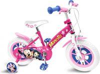 Disney Minnie Mouse - Kinderfiets - Meisjes - Roze - 12 Inch