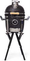 Yakiniku Kamado Barbecue Houtskool Keramisch 13 inch met Camping Onderstel