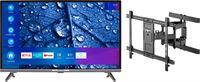 Medion BundelDEAL ! LIFE® P13225 31,5 inch Full HD Smart-TV & GOOBAY Pro FULLMOTION (L) Muurbevestiging