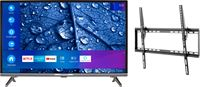 Medion BundelDEAL ! LIFE® P13225 31,5 inch Full HD Smart-TV & GOOBAY Basic TILT (L) Muurbevestiging (tot 70 Inch)