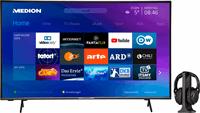 Medion BundelDEAL ! LIFE® X14351 43 inch Ultra HD-TV & E62003 Koptelefoon