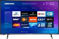 Medion LIFE X14351 Smart-TV 108 cm (43 inch) Ultra HD Display HDR Micro Dimming PVR ready Netflix Amazon Prime Video Bluetooth® HD Tri