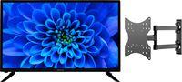 Medion BundelDEAL ! LIFE® E13282 31,5 inch TV & GOOBAY Basic FULLMOTION (D20) Muurbevestiging