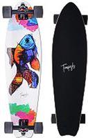 Tempish Skateboard - wit/blauw/roze/groen