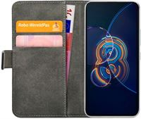 Mobilize PU-leer Book Case Zwart Asus Zenfone 8 Flip