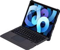 4smarts Apple iPad Air (2020) Hoes Toetsenbord met Book Case Zwart