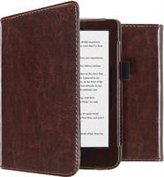 imoshion Leather Booktype voor de Kobo Clara HD - Donkerbruin