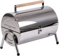 Bo-Camp Barbecue - Barrel - Houtskool - RVS