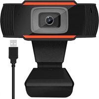 gsmschermkapot Full HD 1080p webcamera - pc camera - oranje