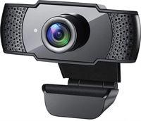 gsmschermkapot Full HD 1080p webcam - pc camera - zwart