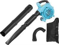 hillvert 2-in-1 bladblazer en bladblazer - 750 W - benzine