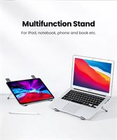 Ugreen Laptopstandaard in Hoogte Verstelbaar 5 Niveaus Aluminium Laptophouder Notebookstandaard Tabletstandaard Compatibel met iPad MacBook Air Pro Asus HP Surface Lenovo Dell tot 17,3 inch