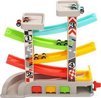 Top Bright Kunststof Autobaan met Auto's