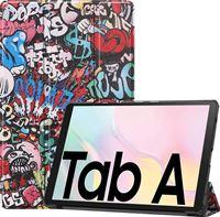 Case2go Samsung Galaxy Tab A7 (2020) hoes - Tri-Fold Book Case - Graffiti