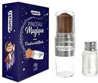 Namaki Kinder Glitterpoeder Kwast - Zilver Glitterkwast - Zilver