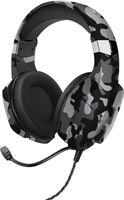 Trust GXT323K Carus V2 - Gaming headset 3,5MM - BLACK CAMO