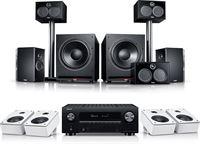"Teufel System 6 THX AVR voor Dolby Atmos """"5.2.4-Set"""""