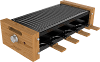 Cecotec Cheese&Grill 8200 Wood Black