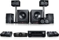 "Teufel System 6 THX AVR Dolby Atmos """"5.2.4"""" + BenQ W5700"