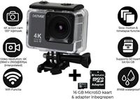 Denver ACK-8062W - 4K action cam - inclusief 16GB Micro SD kaart