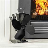 Haushalt International Ventilator voor houtkachels - stil en zuinig