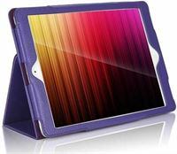 Case2go iPad 2020 hoes - 10.2 inch - Flip Cover Book Case - Paars