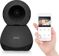 Alecto SMARTBABY10BK - Wifi babyfoon met camera - Zwart
