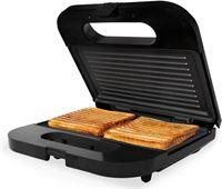 Tomado tgs2001s - tosti ijzer - grillplaten - zwart/rvs