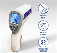 BeSafe PA-1 Infrarood Thermometer Voorhoofd - Wit