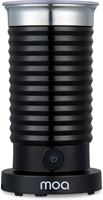 MOA SPORT Melkopschuimer Elektrisch - BPA vrij - Voor Opschuimen en Verwarmen - Zwart - MF4B