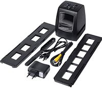n/a Filmscanner, fotoscanner, hoge-resolutie fotoscanner, 35/135 mm, filmscanner voor films, digitale filmconverter, digitale converter HD 2,36 inch LCD-scherm