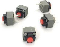 N.B. 10 STKS Micro Mute Knop Muisschakelaar Stille Muis Schakelaar-6x7,3 mm