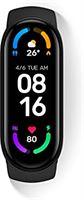 Xiaomi Mi Smart Band 6 x 1,56 full screen, Amoled, 30 trainingsmodi, SpO2-monitor, waterdicht tot 50 m, App Connection Mi Wear en Mi Fit