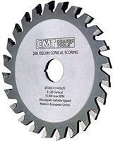 CMT Orange Tools 288.125.24h1 – Sierra incisora 125 x 3.4/4.6 x 20 Z 24 Conico
