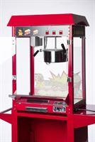 Pajoma 50007 Popcornmachine XXL zonder wagen, 18/8 roestvrij staal, rood