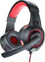 Bluedio D5 Gaming Headset 3 5mm AUX Aansluiting - Comfortabele Koptelefoon met Microfoon Rood