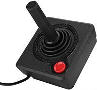 Diyeeni Retro Classic Joystick voor Atari 2600 System, Arcade Controller Gamepad 4pin, compatibel met Atari 7800 console