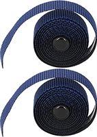 WNSC Stuuromhulsels, comfortabele lichtgewicht racefietshandvattapes Gemakkelijk vast te pakken met stuurpluggen voor mountainbikes voor racefietsen(donkerblauw)