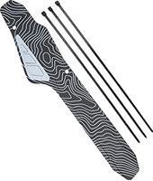 Eosnow Fietsframe kettingbeschermer pad, hoge taaiheid fiets achtervorkbeschermer voor mountainbikes(zwart)