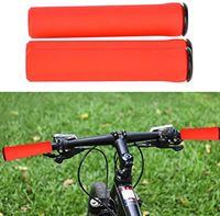Mothinessto Mountain Bicycle Fietsaccessoire slijtvaste antislip siliconen fietsstuurgreephoes robuust voor thuisentertainment(rood)