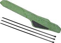 Eosnow Fietsframe kettingbeschermer pad, hoge taaiheid fiets achtervorkbeschermer voor mountainbikes(groente)