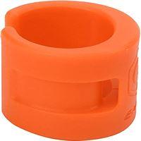 Archuu Rubberen ring voor kettingkast, fietskettingbeschermer Framebeschermer Rubberen kettingkastring voor fietsframes voor racefietsen/crosscountryfietsen(Oranje)
