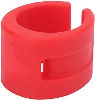 Archuu Rubberen ring voor kettingkast, fietskettingbeschermer Framebeschermer Rubberen kettingkastring voor fietsframes voor racefietsen/crosscountryfietsen(rood)