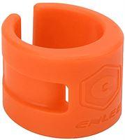 Shanrya Achtervorkbeschermer voor mountainbike, achtervorkbeschermer voor mountainbikes Voorvorkbeschermer voor mountainbikes voor crosscountryfietsen(Oranje)